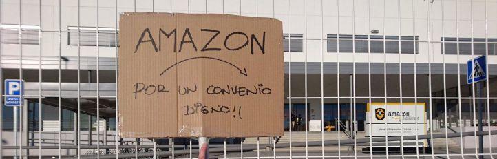 CCOO convoca nuevos paros en Amazon para el 18 de mayo
