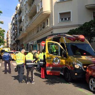 Herido tras ser arrollado por un coche en Ponzano