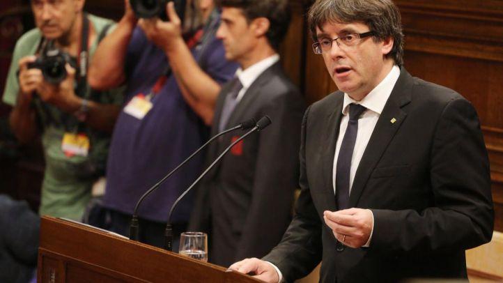El Constitucional impide la investidura de Puigdemont