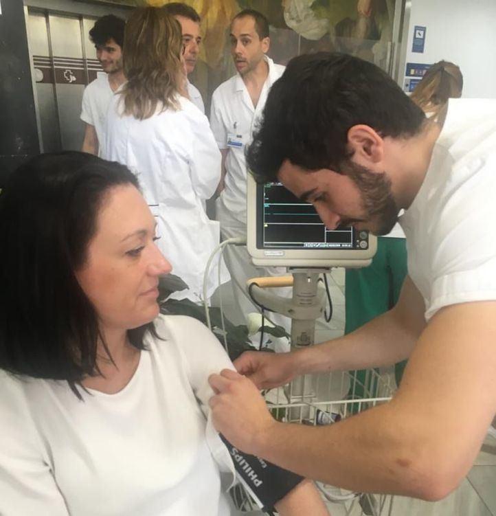 Controles gratuitos en el Día de los Enfermeros