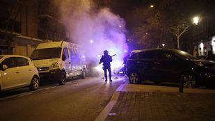 Cuatro detenidos por los disturbios de Lavapiés