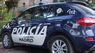 Coche de Policía Municipal de Madrid.