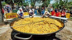 Paella en las fiestas de Rivas Vaciamadrid