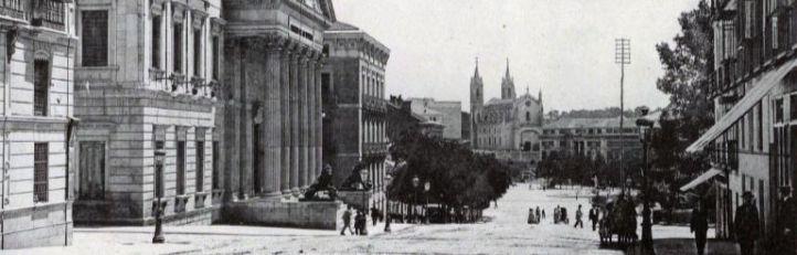 Carrera de San Jerónimo en 1896.