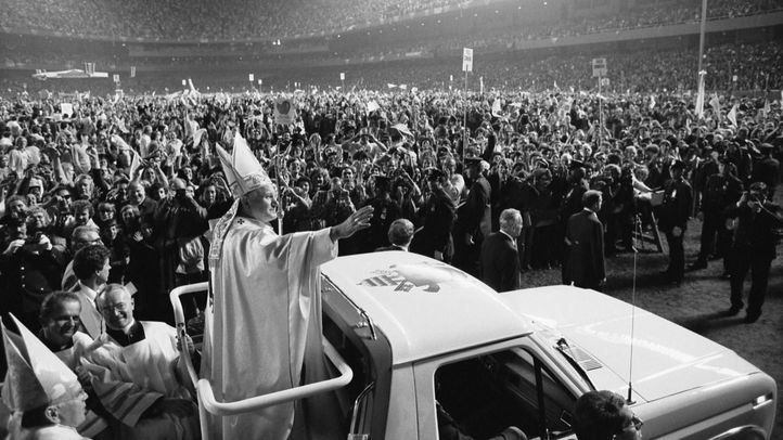El Papa Juan Pablo II.