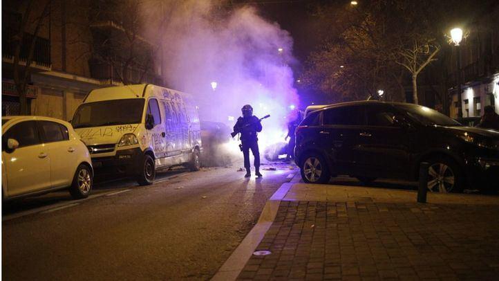 En libertad los detenidos por los disturbios de Lavapiés