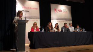 Acto del PSOE-M contra la prostitución
