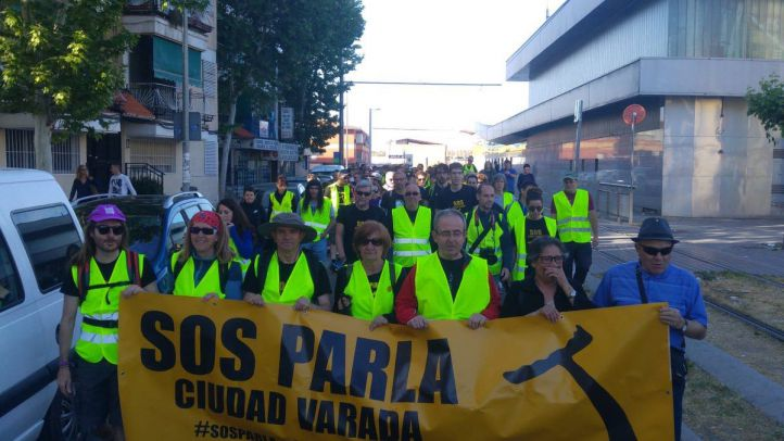 Marcha de Parla a Madrid por la