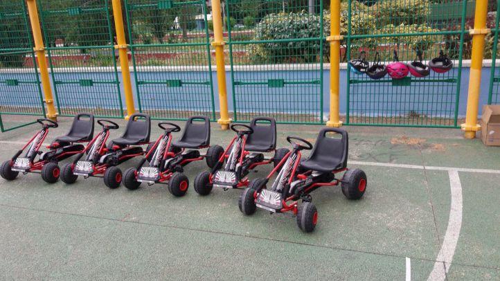 Karts y minigolf en la sexta feria de la familia