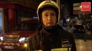 Bomberos de la Comunidad de Madrid han extinguido el fuego