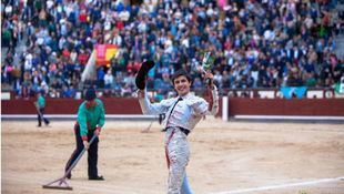 San Isidro: oreja facilonga para Espada