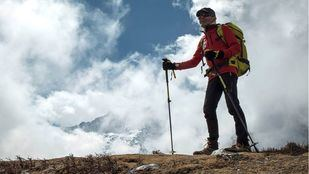 Carlos Soria en el Himalaya.