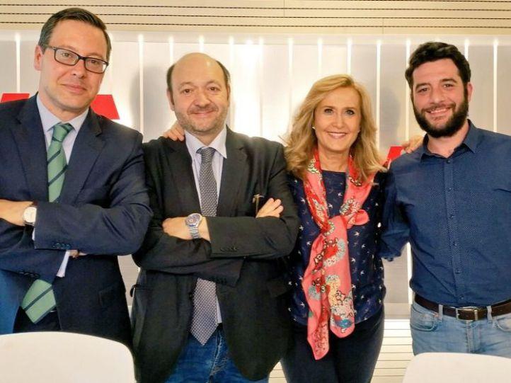El discurso de Garrido copa la charla entre Zafra y Serrano