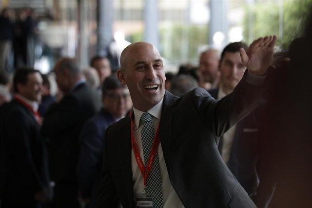 Luis Rubiales, nuevo presidente de la RFEF