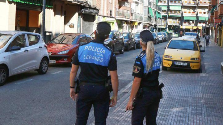 La Policía de Leganés detiene dos hombres por un atraco a mano armada