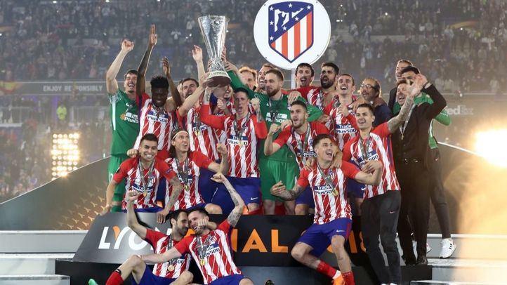 El Atlético de Madrid conquista la tercera Liga Europa de su historia tras vencer (0-3) en la final de la competición al Olympique de Marsella