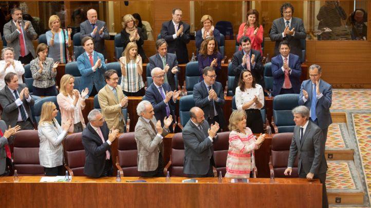 Garrido, tras la elección del Parlamento.