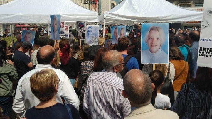 Madrid recuerda a Sandra Palo tras 15 años sin ella