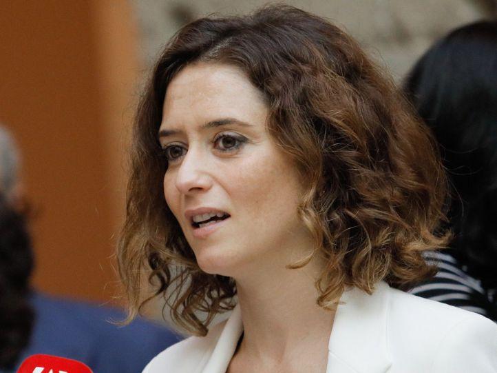 Isabel Díaz Ayuso nueva viceconsejera de Presidencia y Justicia.