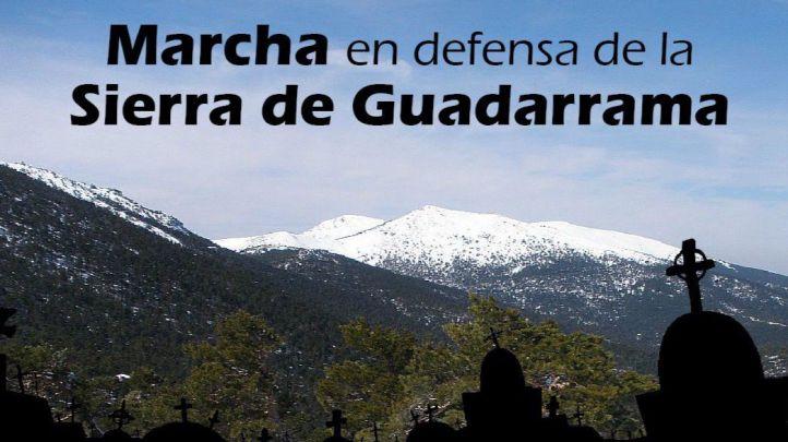 Ecologistas realizan una marcha en defensa de Cercedilla