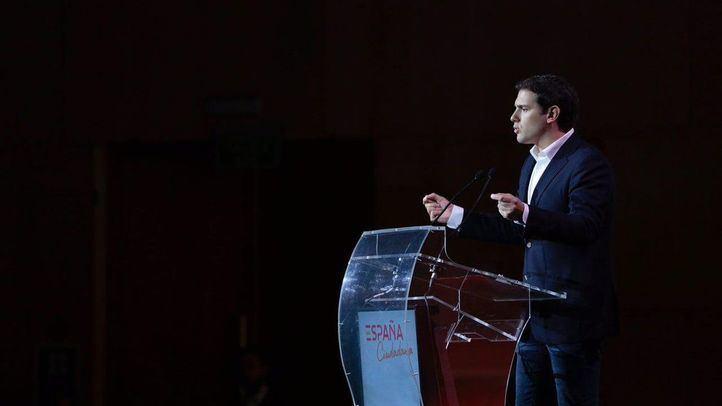Albert Rivera ha lanzado la plataforma España Ciudadana