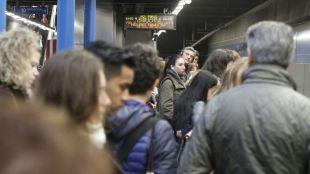 Huelga en Metro los días 1, 4, 8 y 15 de junio por el amianto