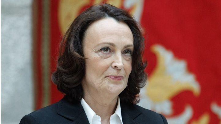 Yolanda Ibarrola, en su toma de posesión de la Dirección General de Justicia de la Comunidad de Madrid.