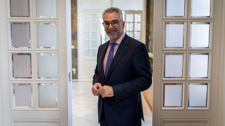 Carlos Izquierdo, consejero de Medio Ambiente de la Comunidad de Madrid.