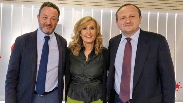 Íñigo Henríquez de Luna y Miguel Ángel Redondo en Com.Permiso.