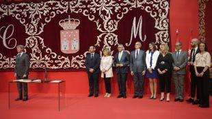 Nueve juramentos en el día uno del Gobierno Garrido