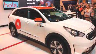 Uno de los vehículos de WiBLE, el nuevo operador de carsharing de Madrid