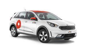 Uno de los vehículos de WiBLE, el nuevo operador de car sharing de Madrid