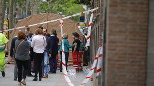 La caída de un forjado provoca el semiderrumbe de un edificio en el número 19 de la calle del General Martínez Campos, en Chamberí.