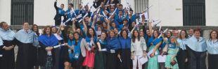 Graduación de los alumnos de Bachillerato en Casvi International American School de Tres Cantos