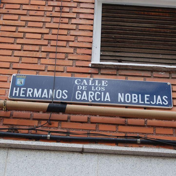 Anulado el cambio de nombre de la calle Hermanos García Noblejas
