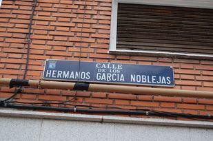 Calle d elos Hermanos García Noblejas.