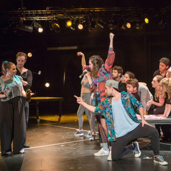 Hermanxs Shakespeare: Corazza ensaya en abierto