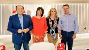 María Luz Lastras y Jesús Moreno, alcaldes de San Martín de Valdeiglesias y Tres Cantos, en Com.Permiso.