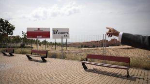Terrenos donde se construirá el nuevo centro de salud de Arroyomolinos.