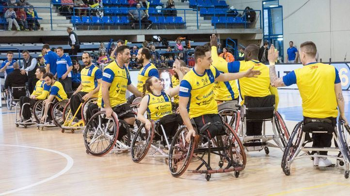 CD Ilunion, el 'dream team' del baloncesto en silla de ruedas