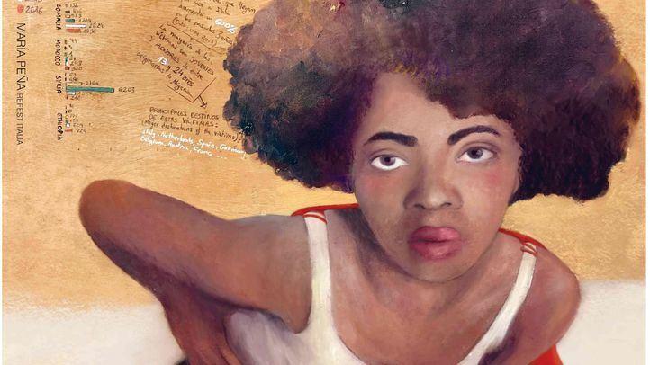 Artistas europeos reflexionan sobre la realidad de los refugiados en una exposición efímera en Villaverde