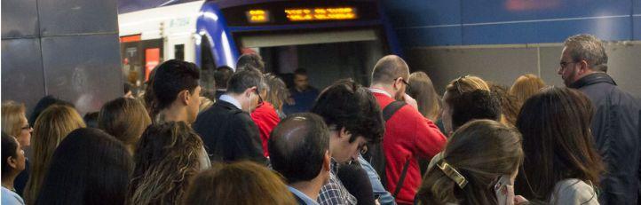 Los trabajadores ratifican los paros de Metro de junio