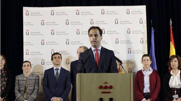 El rector de la URJC, Javier Ramos.