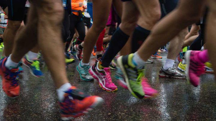 Imagen de archivo de una maratón.
