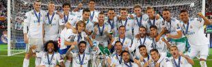 El Real Madrid, campeón de Europa por decimotercera vez