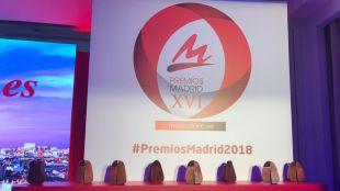 Esculturas de los Premios Madrid.