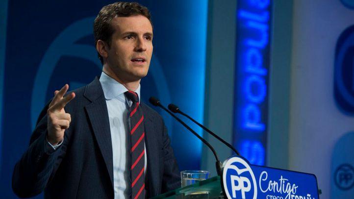 Casado se coloca en la cúpula del PP en un puesto 'compatible' con las elecciones