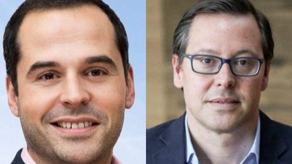 Ignacio Aguado y Alfonso Serrano.