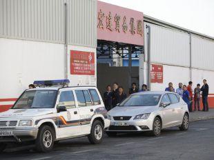 Redada en Cobo Calleja, el paraíso defraudador de los comercios chinos