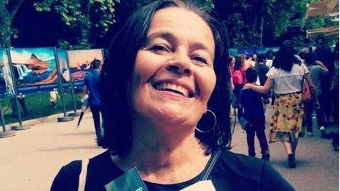 La escritora Raquel Míguez.